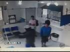 Imagens registram assalto a casa lotérica em Inconfidentes, MG