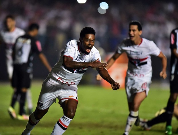 Michel Bastos São Paulo x Atlético-MG