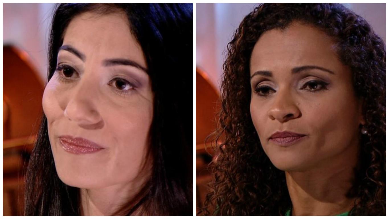 Eliana Gorritti e Daniela Carla pontuam momentos marcantes na carreira (Foto: Divulgação/ TV Gazeta)