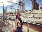 Ex-BBB Renatinha se diverte em viagem à Argentina
