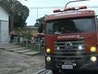 Incêndio em restaurante de Marília deixa funcionária ferida