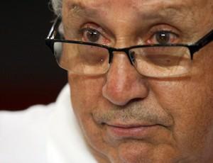 Carlos Nunes presidente da CBB na final da LBF (Foto: Anderson Rodrigues / Globoesporte.com)
