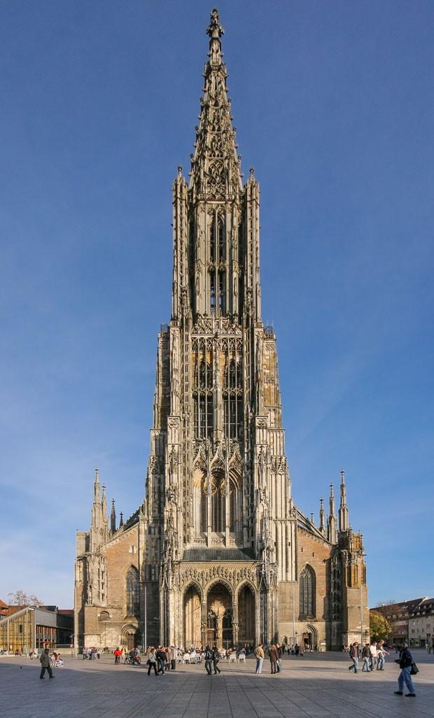 Catedral de Ulm, na Alemanha (Foto:  Martin Kraft/CC BY-SA 3.0 via Wikimedia Commons )