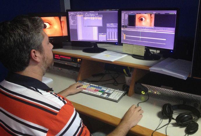 Imagens simples ganham outra perspectiva com a edição e finalização da equipe de arte (Foto: Reprodução / TV TEM)