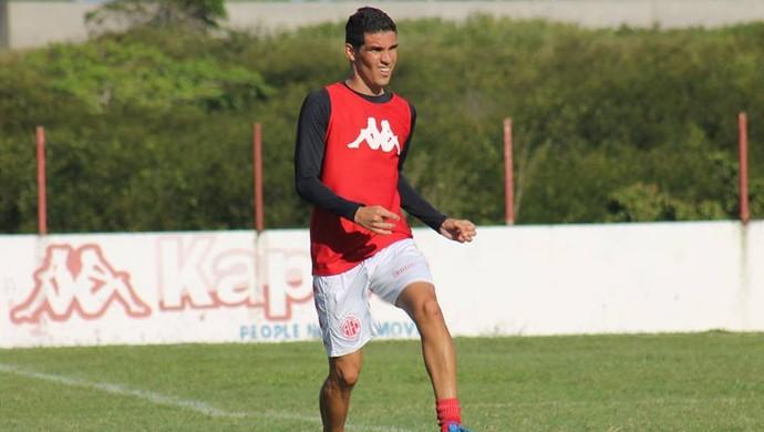 Neto Potiguar - atacante do América-RN (Foto: Canindé Pereira/América FC)