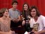 Anaju Dorigon é eleita a rainha da selfie por colegas de elenco