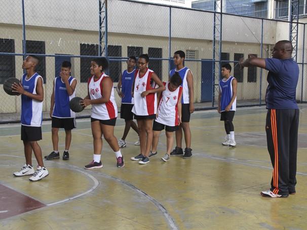 educação física (Foto: Divulgação/ Mariana Cabral)