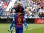 Sem Messi, números de Neymar praticamente dobram no Barcelona