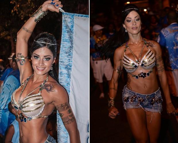 Aline Riscado segue uma dieta para ganhar massa magra e arrasar no carnaval (Foto: Dan Alves)