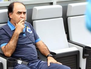 Marcelo Oliveira elogia elenco do Cruzeiro (Foto: Denilton Dias / Vipcomm)