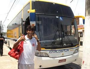 CRB embarque para Campina   (Foto: Júnior de Melo/ Ascom)