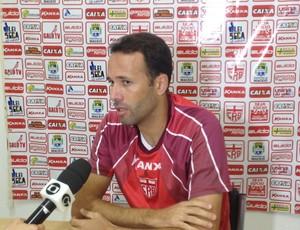 Gabriel, zagueiro do CRB (Foto: Jota Rufino/GloboEsporte.com)