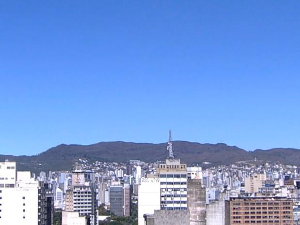BH registra umidade relativa do ar de 8% (Foto: Reprodução/TV Globo)