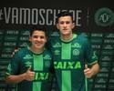 """""""Sem vaidade"""", Diego Renan e Nathan são apresentados na Chapecoense"""