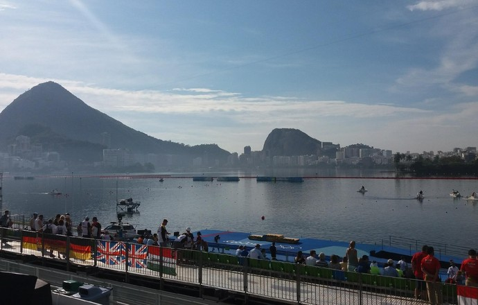 Lagoa, canoagem Rio 2016 (Foto: Alexandre Aliatti)