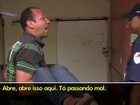 Com mulher no colo, homem grita por atendimento em hospital no DF; veja