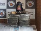 Quatro são presos com R$ 1 milhão em pasta base de cocaína, diz polícia