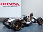 Honda leva carro com motor de MotoGP para o Salão de Frankfurt