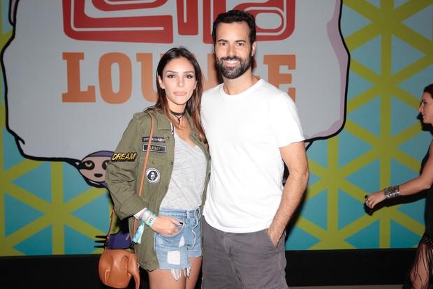 Carol Celico e Eduardo Scarpa (Foto: Rafael Cusato / EGO)