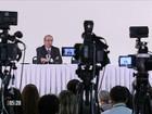 Eduardo Cunha se defende de acusações em coletiva de imprensa