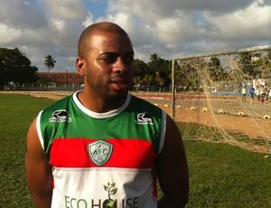 Stefano Seedorf, novo reforço do Alecrim (Foto: Tiago Menezes)