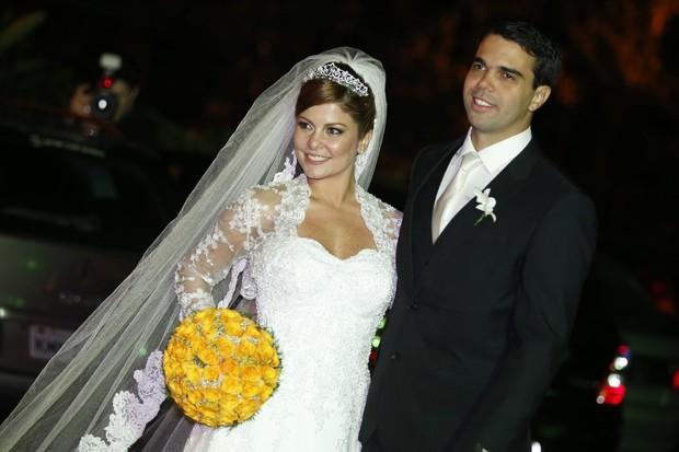 Bárbara Borges e Pedro Delfino (Foto: Felipe Panfili e Leo Marinho/Agnews)