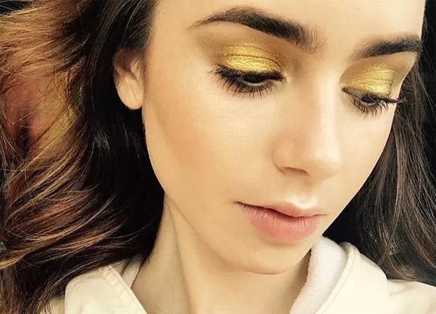 Lily Collins (Foto: Reprodução / Instagram)