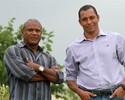 Campeões mundiais, Mazinho e Gilberto Silva visitam CT do Goiás