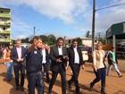 Ministro da Integração visita cidades atingidas pelas chuvas em SC