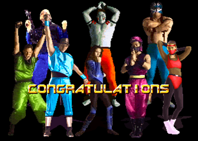 Tentaram misturar Mortal Kombat com jogos de SNK, o resultado foi Survival Arts (Foto: Reprodução / Youtube)