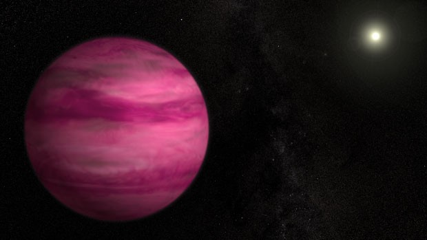 Novo planeta (Foto: AFP/Nasa)