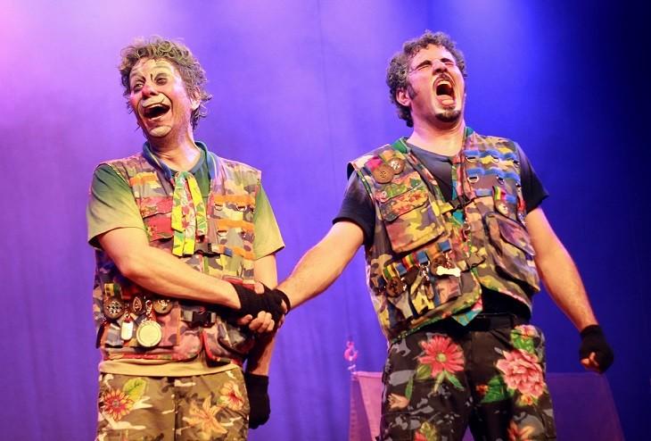 Dois idiotas peça infantil (Foto: Anderson Gligor)