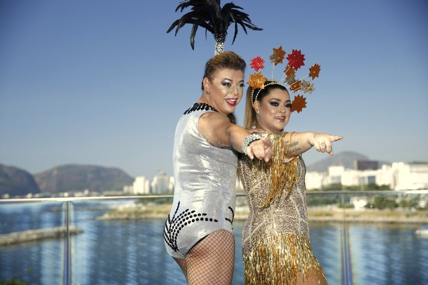 Preta Gil e David Brazil (Foto: Marcos Serra Lima / Ego)