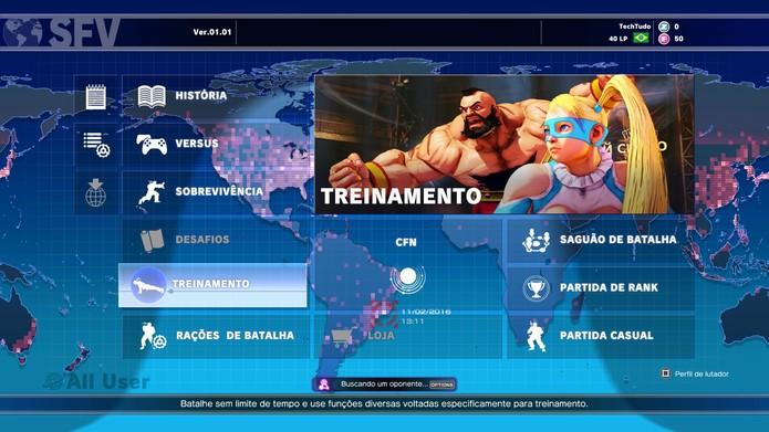 O modo sobrevivência é uma das novidades de Street Fighter 5 (Foto: Reprodução/Caio Fagundes)
