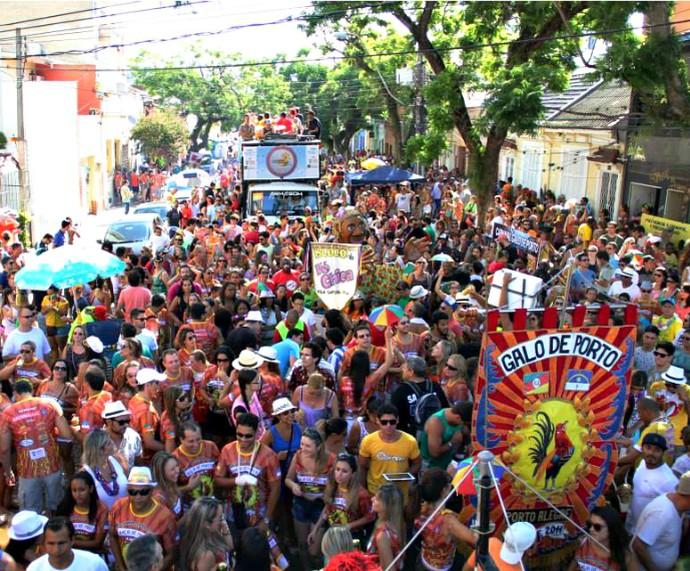 Galo de Porto foi um dos destaques do Carnaval de Rua em 2015 (Foto: Divulgação/Galo de Porto)