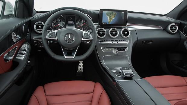 Mercedes-Benz Classe C vira nacional e ganha motor flex - AUTO ...