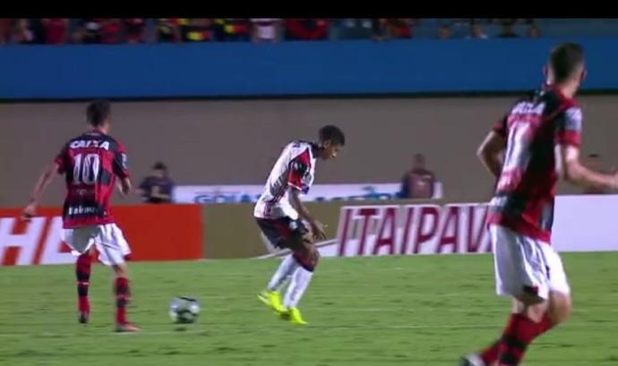 Márcio Araújo garrancho (Foto: Reprodução SporTV)