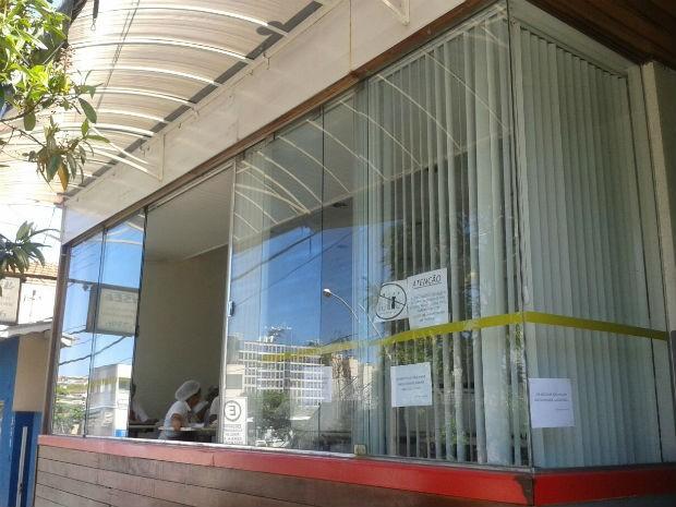 Apesar de não ter feridos, restaurante não abrirá (Foto: Thalles Bruno/ EPTV)