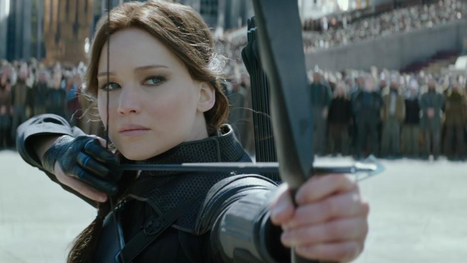 Katniss (Jennifer Lawrence) (Foto: reprodução)