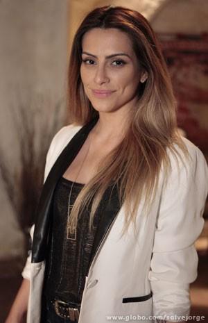 Cleo Pires ficou loira para viver a Bianca (Foto: Salve Jorge/ TV Globo)