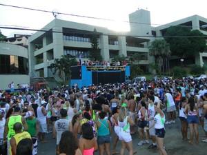 Carnaviana é realizado na sede do município. (Foto: Divulgação/Prefeitura Municipal de Viana)