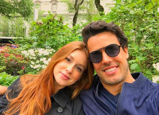 Marina Ruy Barbosa e Xandinho Negrão (Foto: Reprodução)