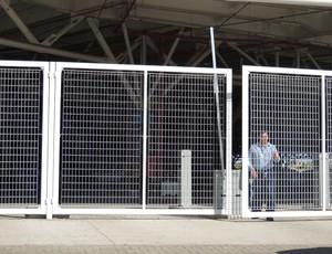 arena treino fechado grêmio (Foto: Hector Werlang/Globoesporte.com)
