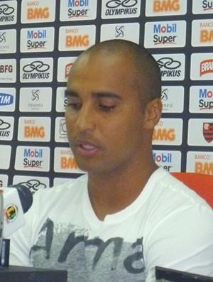 Coletiva Deivid Flamengo (Foto: Richard Souza / Globoesporte.com)