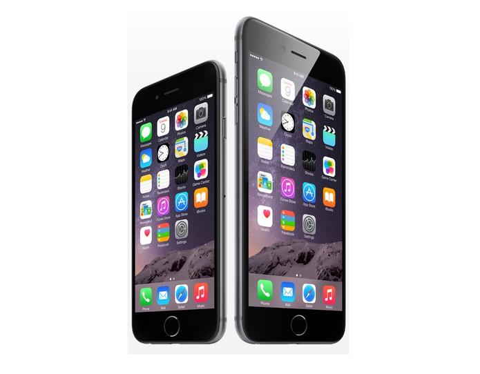 iPhone 6 e iPhone 6 Plus (Foto: Divulgação/ Apple)