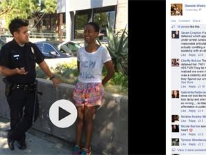 "Danièle Watts, atriz de ""Django Livre"", foi detida por engano (Foto: Reprodução/Facebook/Danièle Watts)"