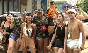 Muita folia marca último dia de carnaval no interior do Maranhão (Reprodução / TV Mirante)