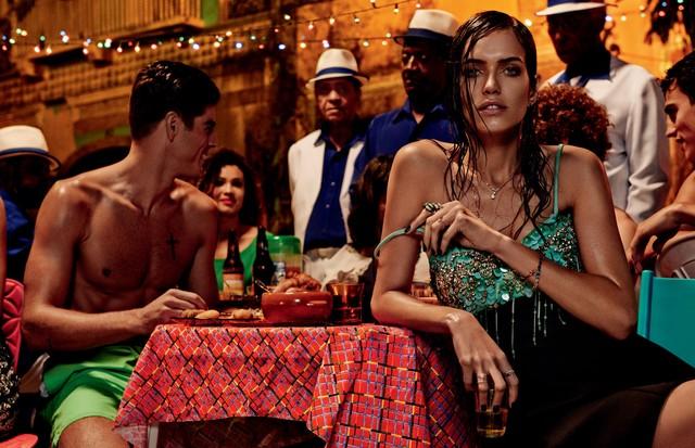 Folia gasta calorias e pede por menu leve (Foto: Giampaolo Sgura/Arquivo Vogue)