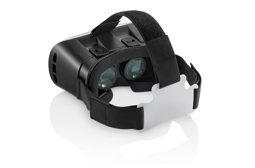 Óculos de realidade virtual da Multilaser funciona com smartphone (Foto: Divulgação/Multilaser)
