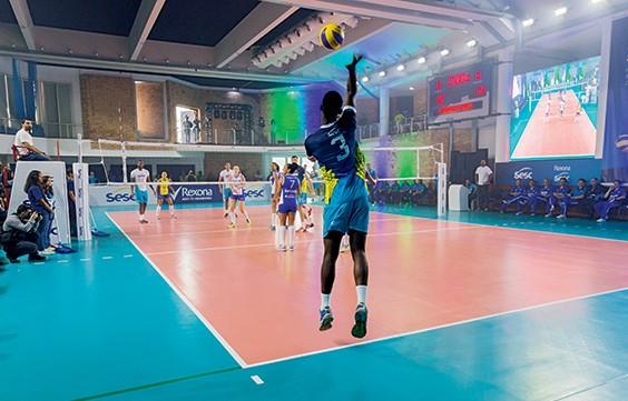 PROGRAMA SESC ESPORTE: Sesc RJ vai investir em equipes de elite no vôlei e em outras modalidades (Foto: Ricardo Miura)